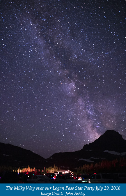 Logan Pass Star Party 07-29-16