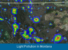 Light Pollution In Montana