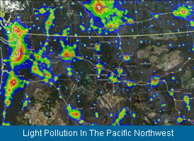 Light Pollution In The Pacific Northwest